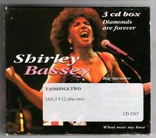 (GZ21) Shirley Bassey, Diamonds Are Forever - 1997 Triple CD