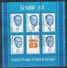 Turkije 1983 gestempeld block 23 - Izmir 1983 (SG055)