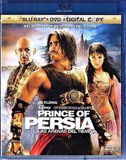 PRINCE OF PERSIA: LAS ARENAS DEL TIEMPO de Mike Newell. Combo blu-Ray y dvd.