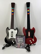 Playstation 2 PS2 Guitar Hero II Red Octane Wired