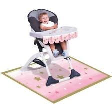 One Little Star Girl - High Chair Decoration Kit