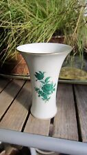 Augarten Wien - Maria Theresia Green Rose Pattern Vase