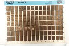 Grundig Service RR 600 CD Radiorekorder Radio Cassette Microfiche 1993 K142