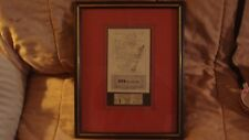 framed signed Playbill 1970 Norma Cleveland Metropolitan Opera Joan Sutherland