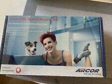 ARCOR DSL Speed-Modem 200  mit Ethernetanschluss LAN Neu In Folie