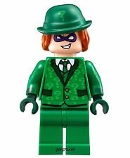LEGO Batman Movie The Riddler Minifigure in green suit new  70903 minfig 2017