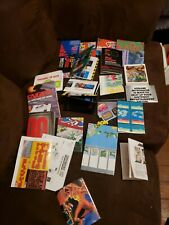 VINTAGE VIDEO GAME NINTENDO SEGA POSTERS LOT OF 23 Final fantasy simpsons ect