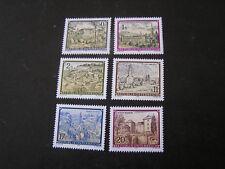 Austria, Scott # 1465/1466+1468/1489(2)+14 71/1472(2), Monasteries 1989-92 Mnh
