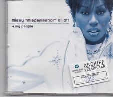 Missy Elliot-4 My People cd maxi single