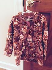 RARE NWT Boutique Girls Oilily Zipper  jacket with Hood and pockets