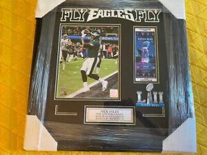 Philadelphia Eagles Win Super Bowl 52 Philly Special Foles TD Framed  PHOTO