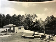 Vintage photo Esso Fuel Tanks at Cove Valley Service Plaza on Pa Turnpike 1940