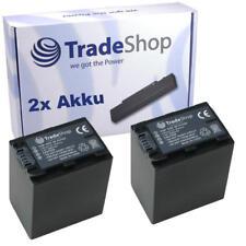 Batería 2x para Sony dcr-sr52 dcr-sr52e dcr-sr-52e dcr-sr-52