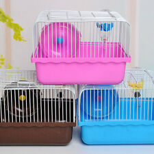 Pet Store  Household Portable Small Hamster Gerbil Cage 23*17*16.5cm Plastic