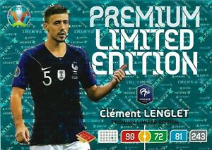 PANINI ADRENALYN XL EURO 2020 CLEMENT LENGLET PREMIUM LIMITED EDITION