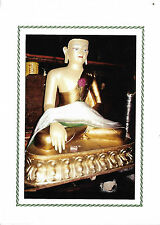 A TIBETTAN BUDDAH - LARGE FOLDED GREETINGS CARD - BLANK FOR ALL OCCASSIONS
