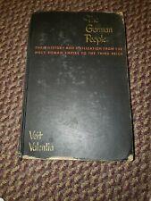 The German People- Veit Valentin, 1949, Illustrated