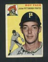 1954 Topps #87 Roy Face VG/VGEX Pirates 96529