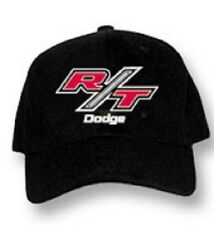 Dodge R/T RT Hat Cap Black Charger Challenger Caliber Dakota Durango