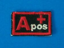 Blood Group Type A positive A+ Biker medical Information Patch for Vest Jacket