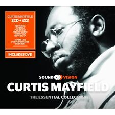 Curtis Mayfield Essential Collection 2CD & DVD 1987 Montreux Jazz Festival