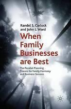 Lorsque des entreprises familiales sont mieux: le parallèle Processus De Planification de la famille...