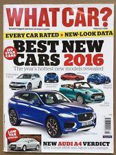 What Car Magazine - February 2016 - VW Tiguan F-Pace Alfa Giulia Renault Megane