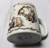 Classic Winnie The Pooh Christopher Robin Made In Japan Coffee Mug Brand New
