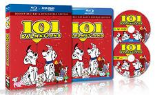 Disney Original Classic 101 Dalmatians - Blu Ray + DVD Disc Set -Region 0 (NEW)