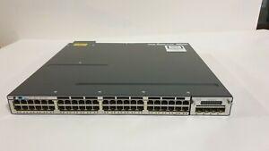 CISCO WS-C3750X-48PF-S Catalyst 3750X 48-Port GE PoE IPBASE Switch - 1 YrWty