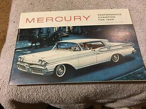 1959  MERCURY   SALES LIT     VERY NICE