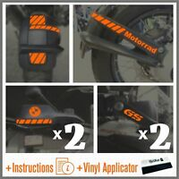 10pcs R1200GS 04-12 ADV Orange REFLECTIVE PARAFANGO R1200 GS ADESIVI R 1200