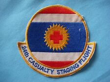 Vietnam War Patch Us 24th Casualty Staging Flight Korat 1966