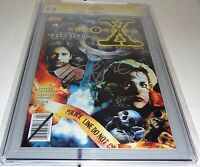 Topps Comics X-Files #4 CGC SS 9.8 Signature Autograph DAVID DUCHOVNY Signed