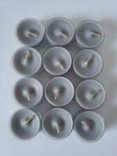Partylite V04851 Silver Birch & Fig 12 pack Universal Tealights Candles