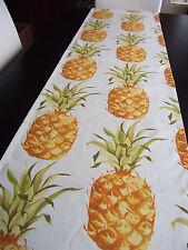 Tischläufer Ananas Karibik Früchte Hawaii Martinique Impressionen ca.170x40 cm