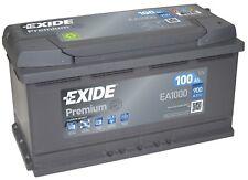 Batterie Exide EA1000 Fulmen FA1000 12v 100ah 900A 353x175x190mm varta G3 H3