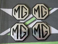 MGZR MG ZR Alloy wheel centre badge inserts set of 4 Pearlesant Green