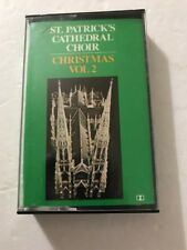 christmas vol 2 st. patrick's cathedral choir cassette Tested Rare Ships N 24hrs