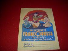 PROTEGE CAHIER PUBLICITAIRE    ENTREMETS  FRANCORUSSE