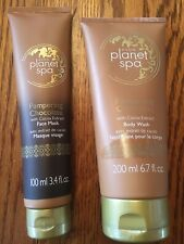 AVON PLANET SPA PAMPERING CHOCOLATE FACE MASK & BODY WASH -BRAND NEW SEALED- WOW