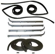 Belt Weatherstrip Window Channel Door Seal Kit for 87-96 Ford F150 F250 F350