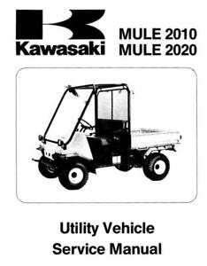Kawasaki-Mule-2010-2020-KAF540 Workshop Manual