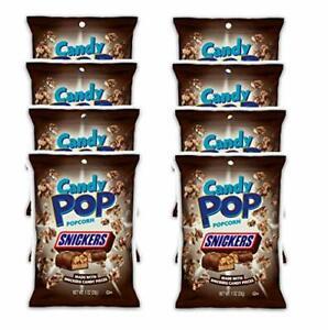 Candy Pop SNICKERS Popcorn 29.6ml Paquet De 8