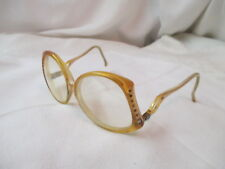 Vintage 1980's Welling Usa 135 Eyeglasses with Rhinestones Bijou Li