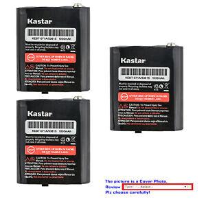 Kastar Battery for Motorola Talkabout Two-Way Walkie Talkies 27 Mile 22 Channel