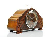 "Superb 1930' Junghans/ HAU Art Deco Mantel Clock "" Bim-Bam"" Chime, Palisander"