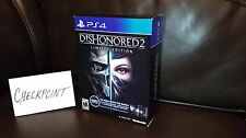 Dishonored 2 Limited Royal Protector Bundle Edition w/Steelbook Keychain Novel