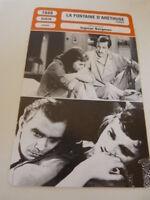 FICHE CINEMA,LA FONTAINE D'ARETHUSE , INGMAR BERGMAN, B.malmsten,E.henning, 1949