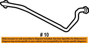FORD OEM 02-05 Explorer-Power Steering-Pressure Hose Line Tube 1L2Z3A714EA